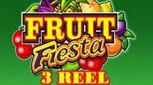 Fruit Fiesta 3 Reel Slots Game